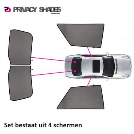 Car shades Nissan Navara (double cab) 2007-2013 autozonwering