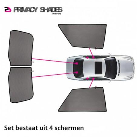 Car shades Peugeot 407 Sedan 2004- autozonwering