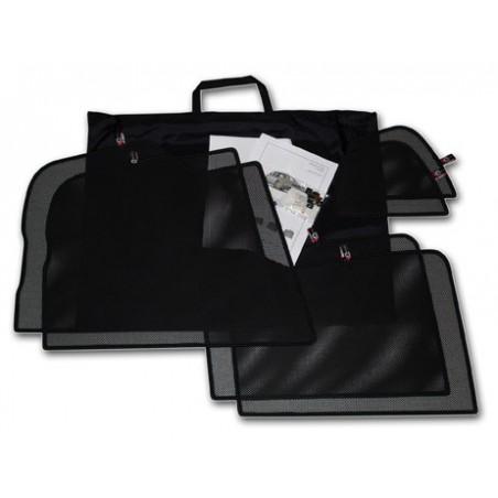 Car shades Seat Toledo Sedan 2013- autozonwering