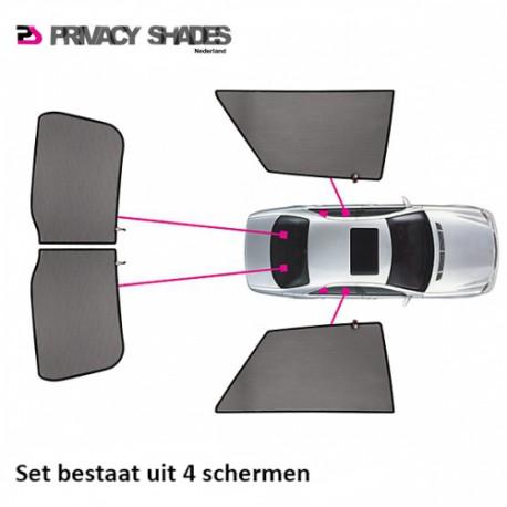 Car shades BMW 7-Serie F01 Sedan 2008- autozonwering