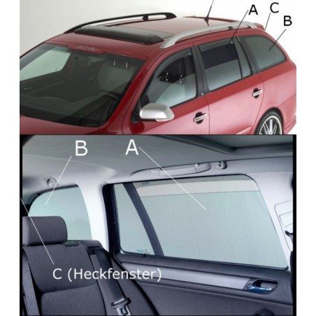 Sonniboy Volkswagen Polo 6R/6C 3-deurs 2009-2017 autozonwering