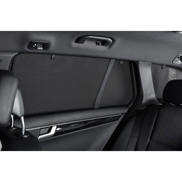 Privacy shades BMW X1 F48 5 deurs 2015- (alleen achterportieren 2-delig) autozonwering