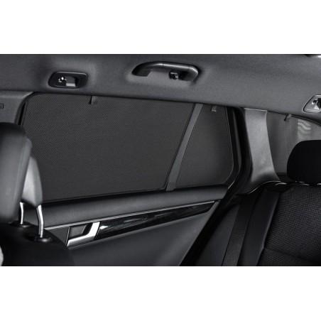 Privacy shades Nissan Navara (double cab) 2013- (alleen achterportieren 2-delig) autozonwering