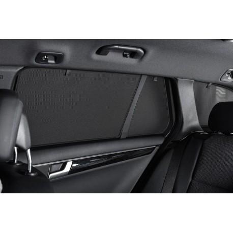Privacy shades Skoda Rapid Sedan 2013- (alleen achterportieren 2-delig) autozonwering