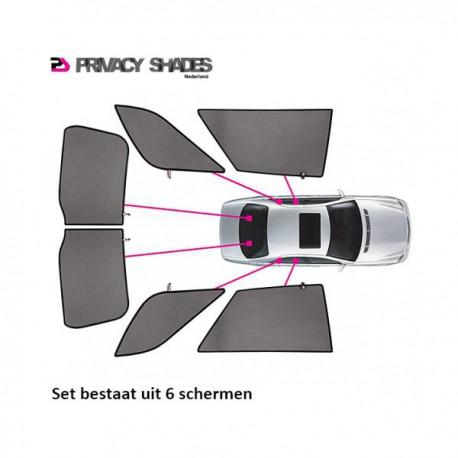 Car shades BMW X3 F25 2010- autozonwering