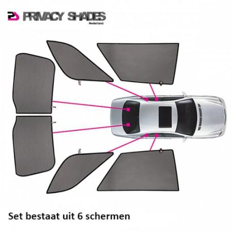 Car shades Dacia Logan MCV Station 2012- autozonwering