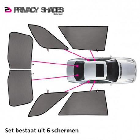 Car shades Mitsubishi Lancer Sportback 5-deurs 2009- autozonwering